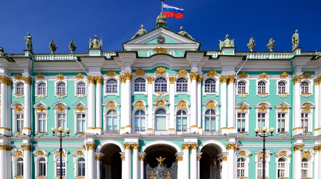 Hermitage presenterar historisk arkitektur
