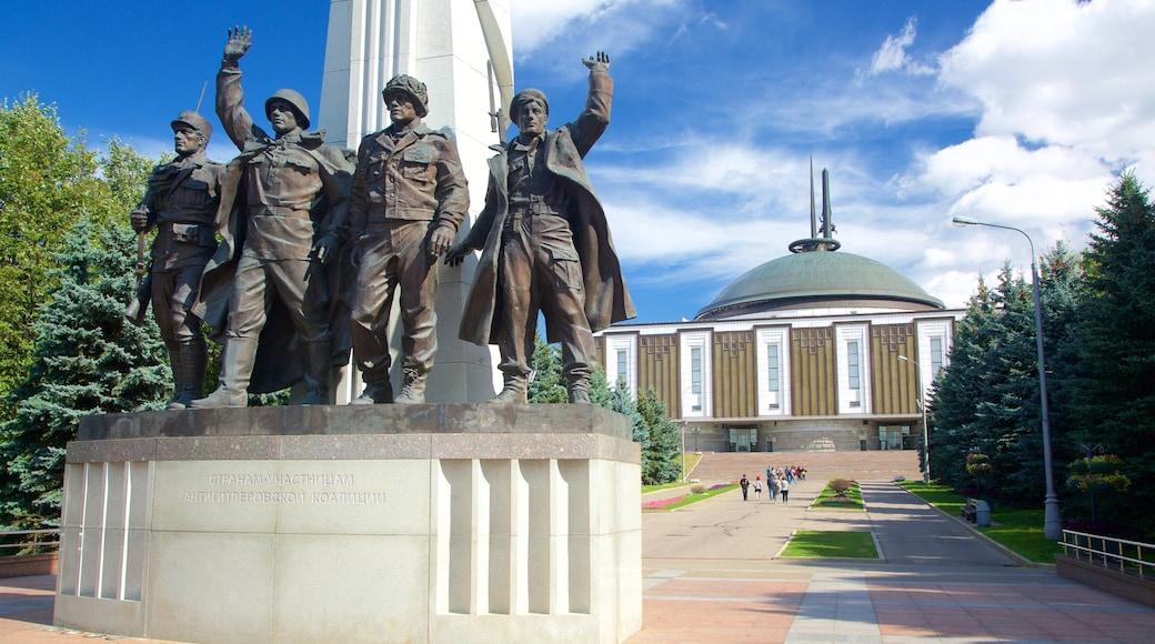 Siegespark welches beinhaltet Monument und Statue oder Skulptur