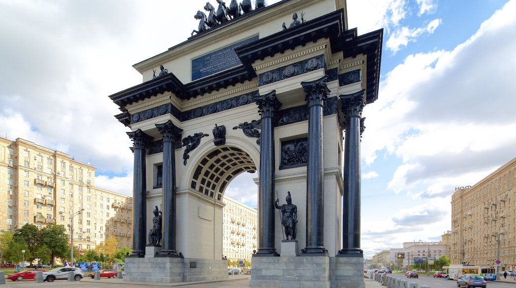 Triumphbogen welches beinhaltet historische Architektur