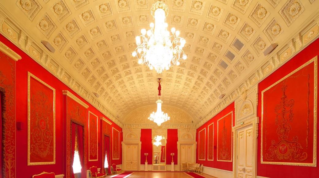 Bolschoi-Theater das einen historische Architektur und Innenansichten
