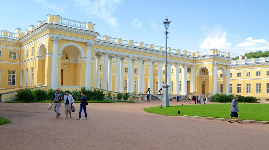 Palácio de Alexandre mostrando arquitetura de patrimônio