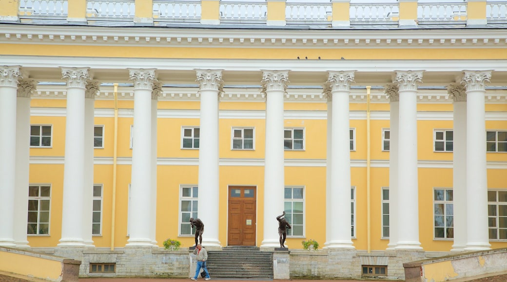 Palácio de Alexandre que inclui arquitetura de patrimônio