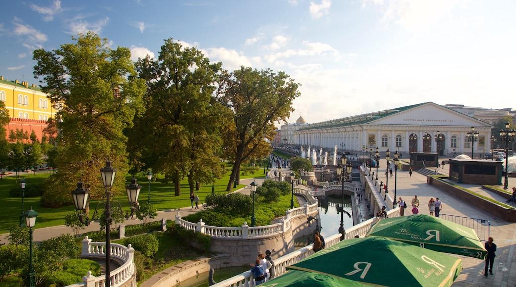 Alexandergarten mit einem Garten