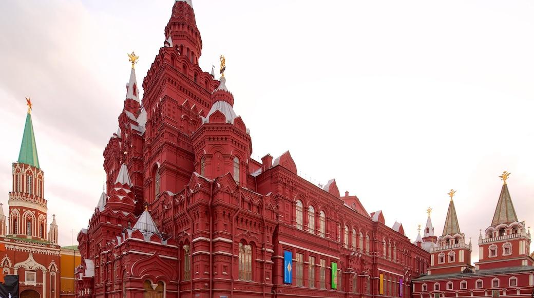 Staatliches Historisches Museum welches beinhaltet historische Architektur