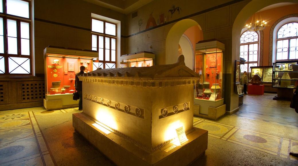 Staatliches Historisches Museum das einen Innenansichten