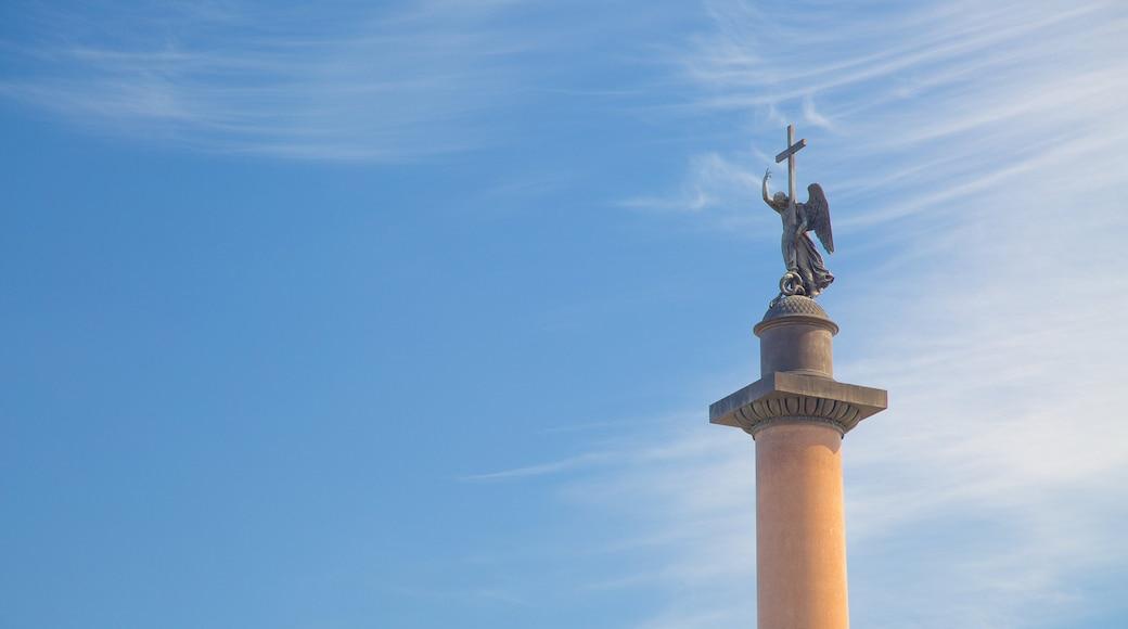 Alexander Column showing a statue or sculpture