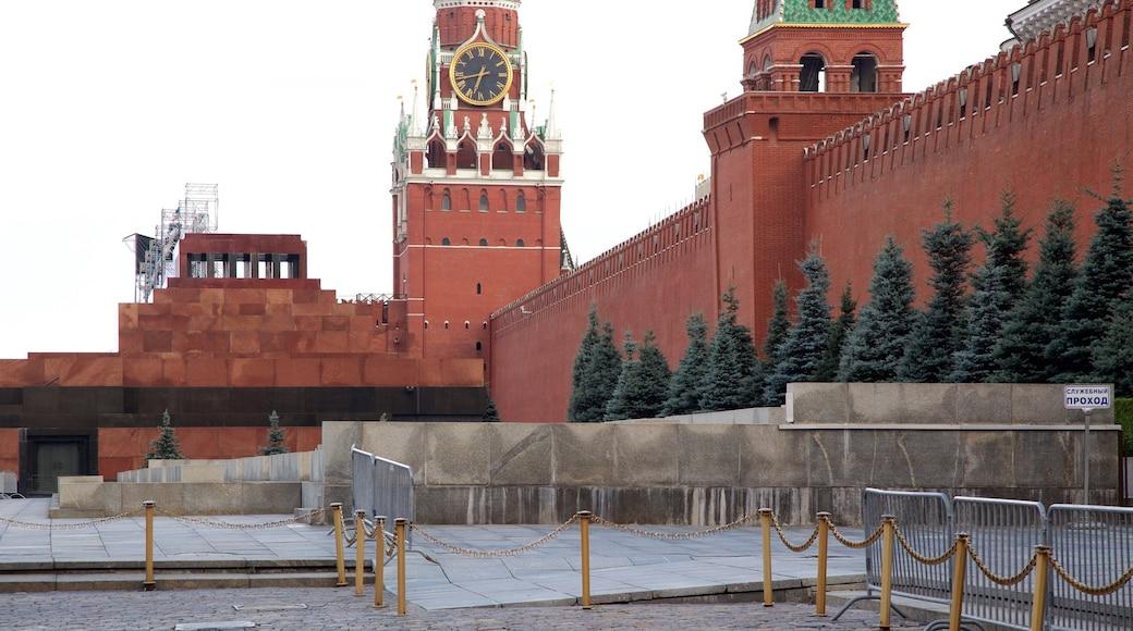 Lenin-Mausoleum das einen Platz oder Plaza