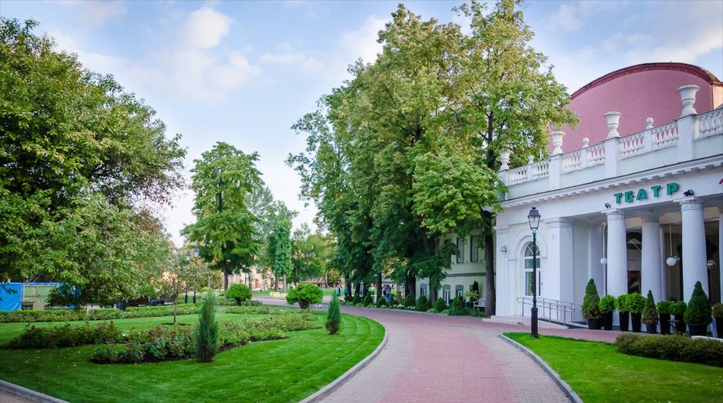 Eremitage-Garten mit einem historische Architektur und Garten
