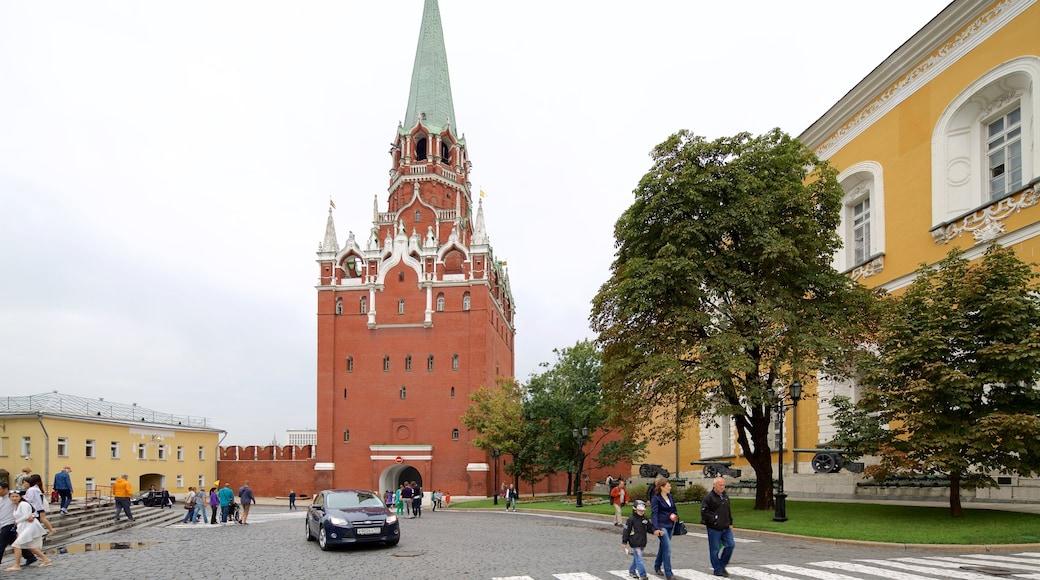 Kreml welches beinhaltet historische Architektur