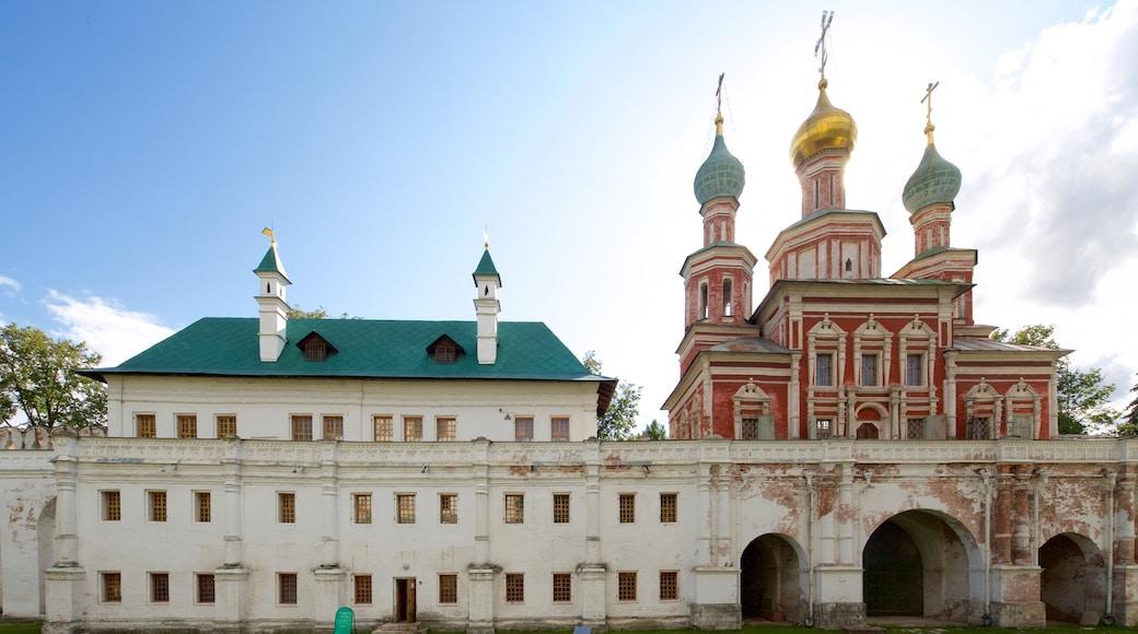 新處女修道院公墓 呈现出 歷史建築