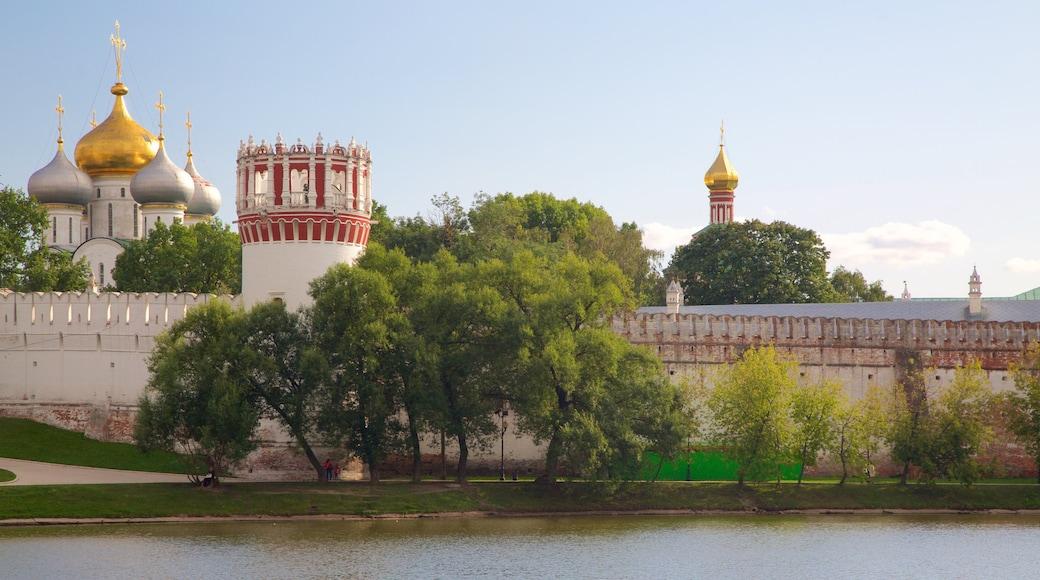 Nowodewitschi-Kloster und Friedhof welches beinhaltet historische Architektur