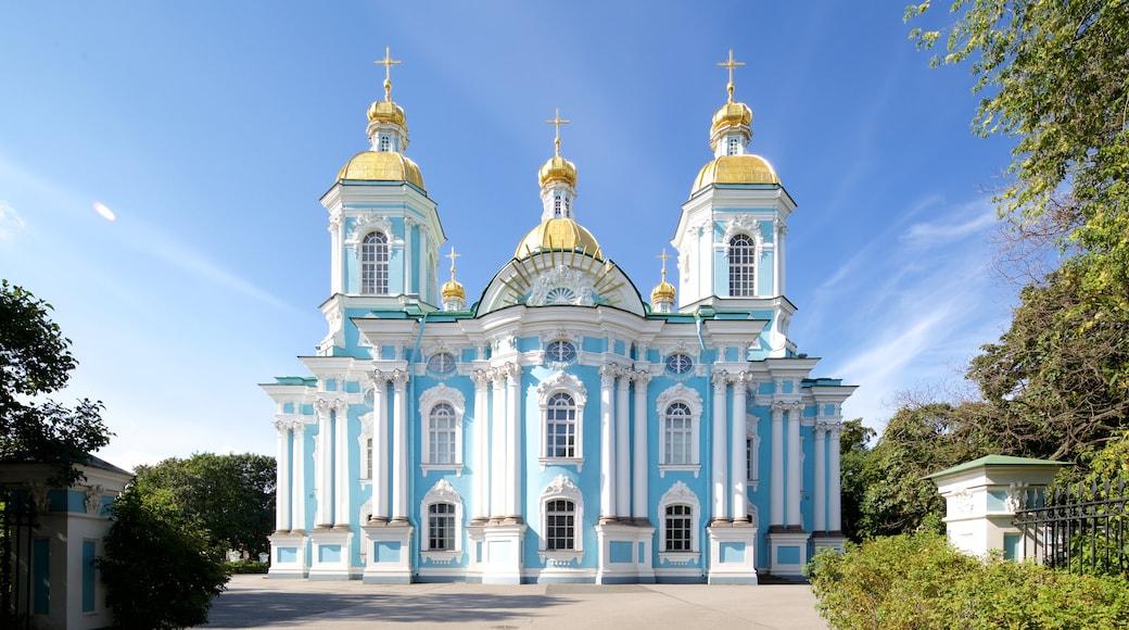 St. Nicholas\' Naval-katedralen som visar historisk arkitektur