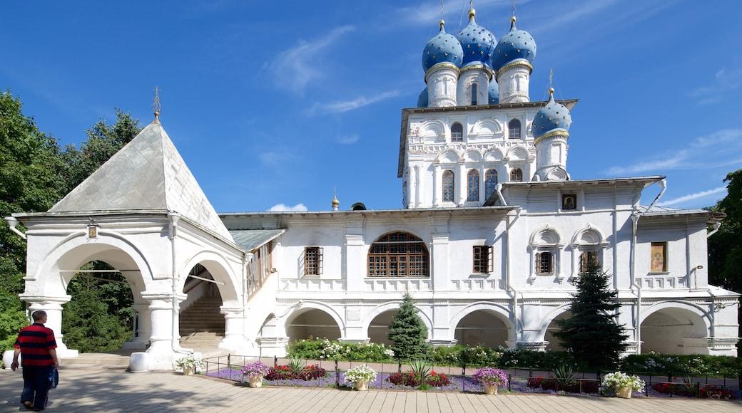 Kolomenskoje Geschichts- und Architekturmuseum welches beinhaltet historische Architektur