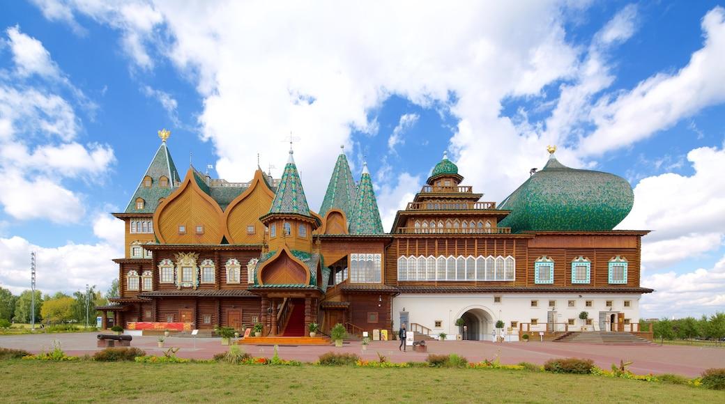 Kolomenskoje Geschichts- und Architekturmuseum mit einem historische Architektur