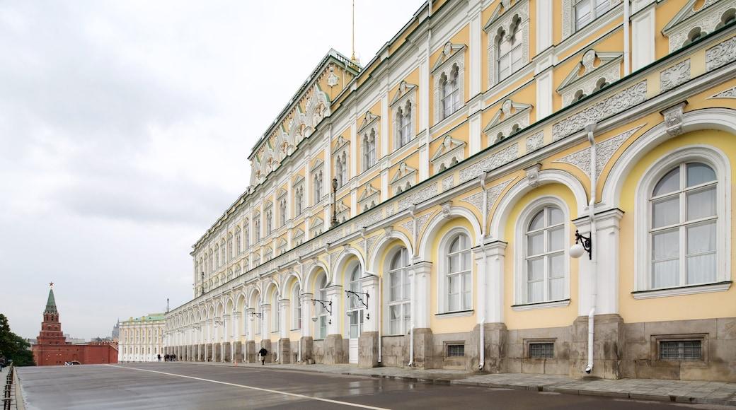 Rüstkammer des Moskauer Kremls mit einem historische Architektur