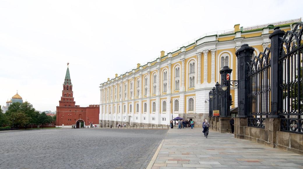 Rüstkammer des Moskauer Kremls welches beinhaltet historische Architektur
