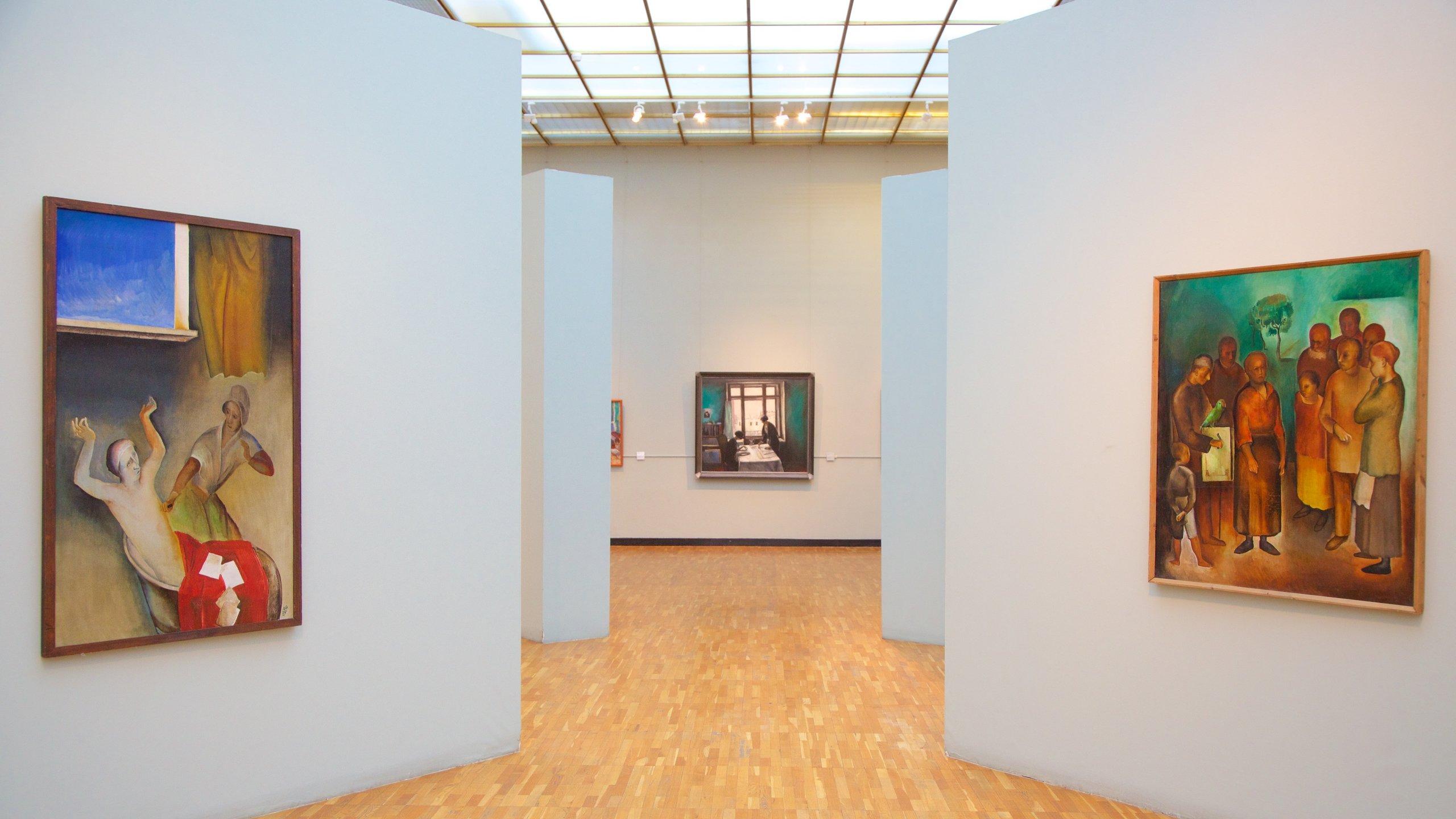 Nuova Galleria Tretyakov - Museo di Arte Moderna caratteristiche di vista interna e arte