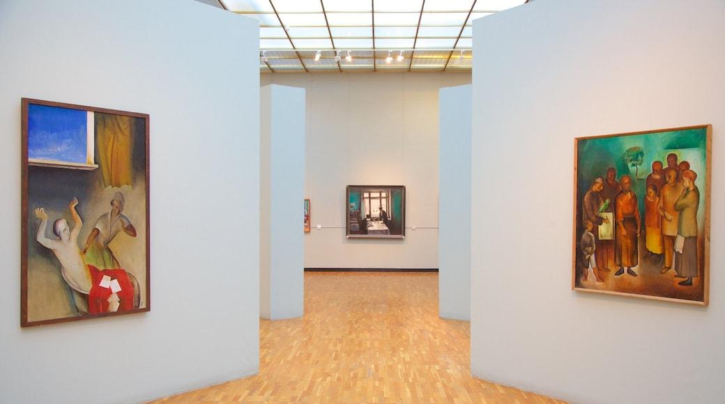 Uusi Tretyakovin galleria - modernin taiteen museo joka esittää sisäkuvat ja taide