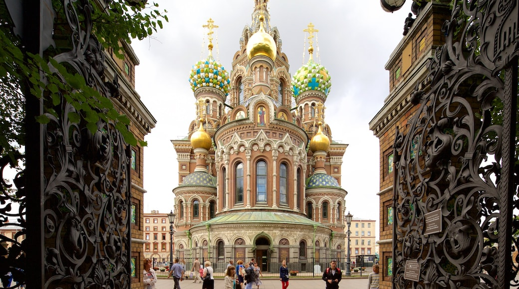 Church of the Savior on the Spilled Blood which includes heritage architecture