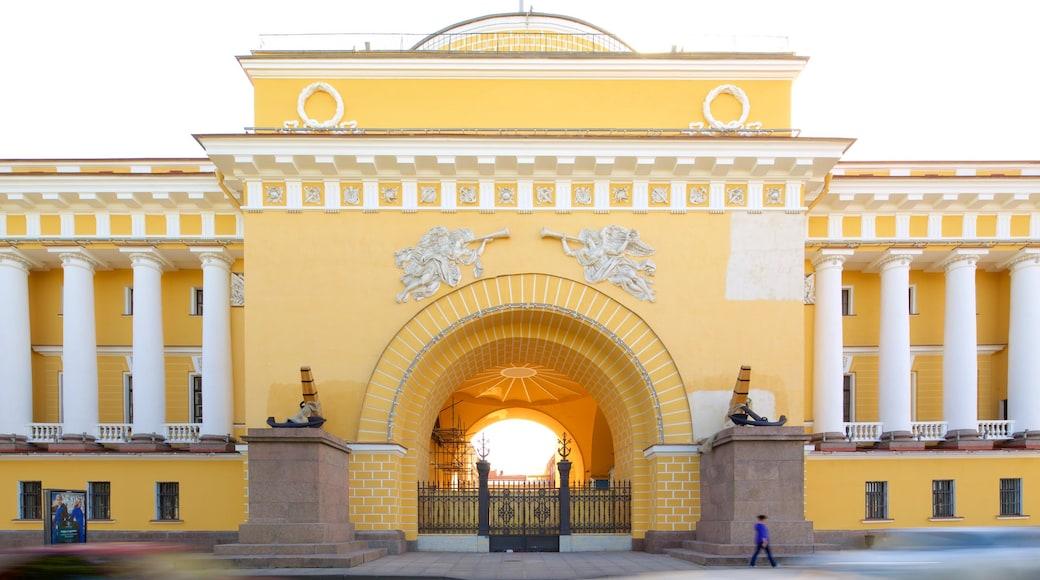 Amiralitetsbyggnaden presenterar historisk arkitektur