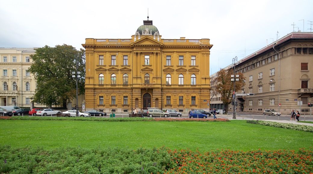 Zagreb County which includes heritage architecture and a garden