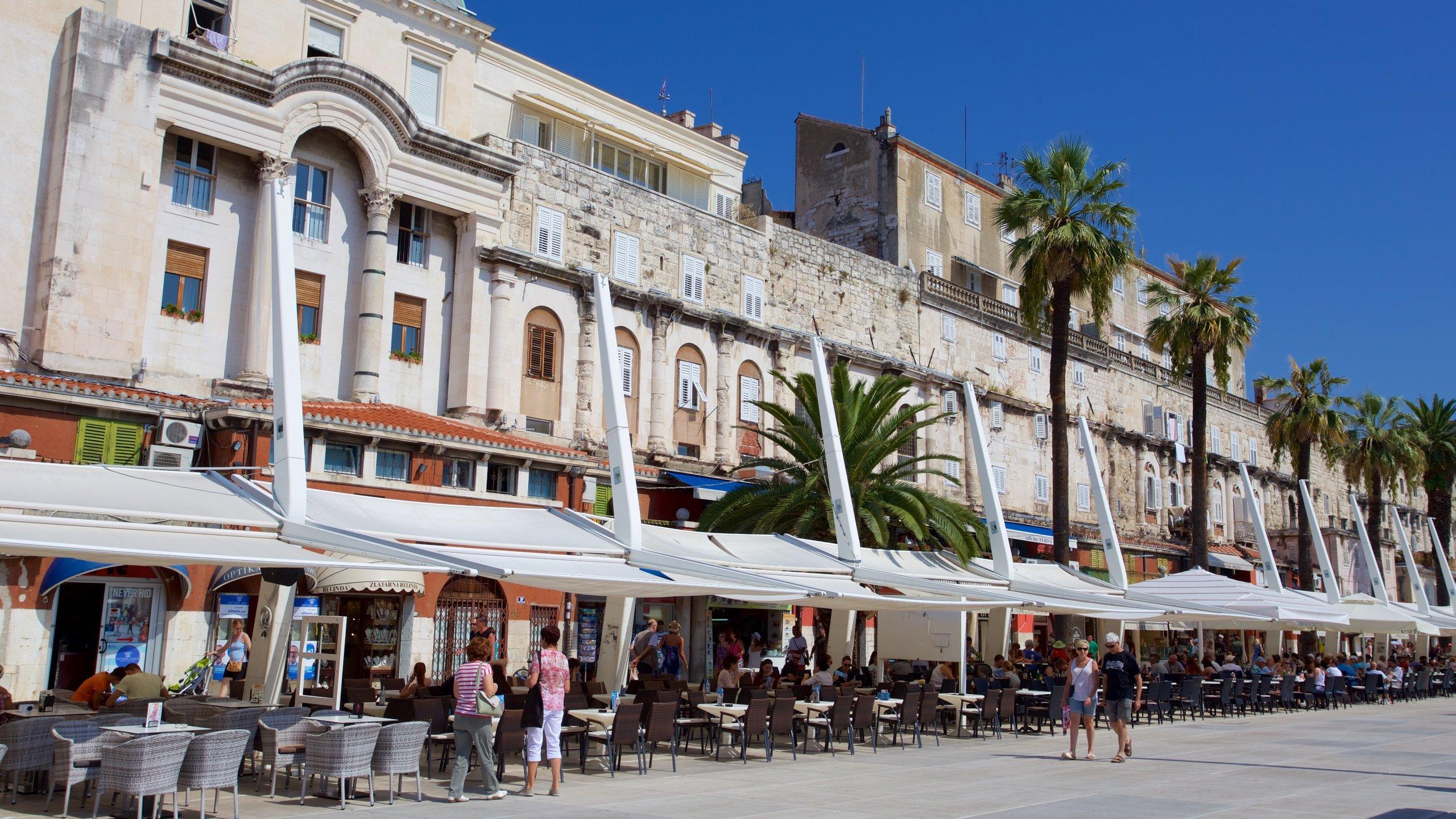 Riva, Split, Split-Dalmatien, Kroatien