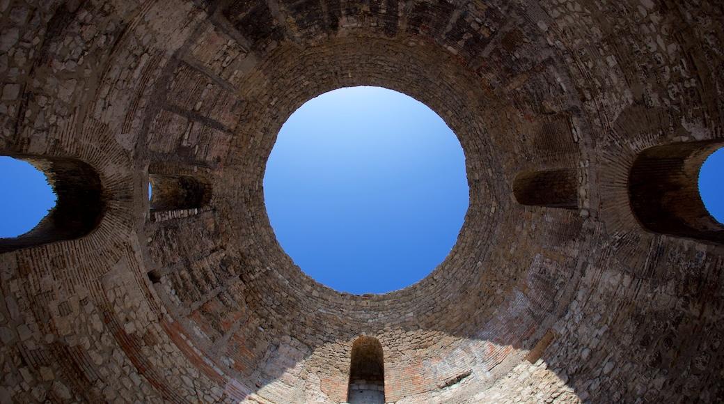Palais de Dioclétien montrant patrimoine historique
