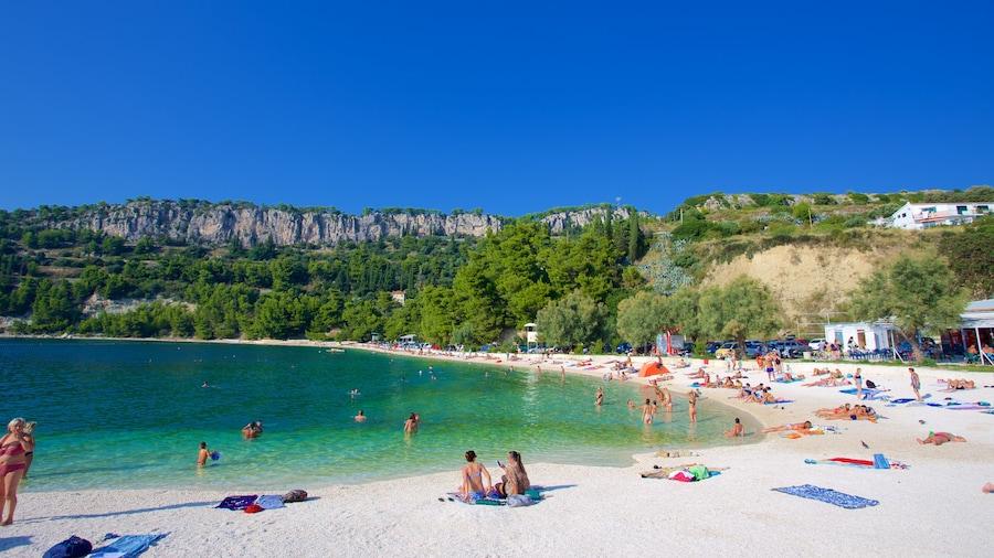 Kasuni Beach showing a sandy beach