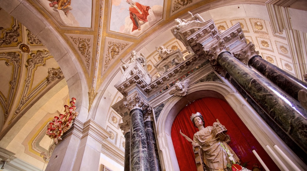 St. Euphemia\'s Church which includes religious elements