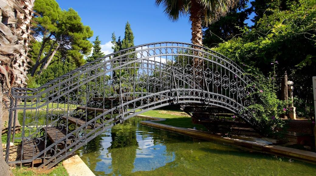 Sveta Katarina welches beinhaltet Brücke und Teich