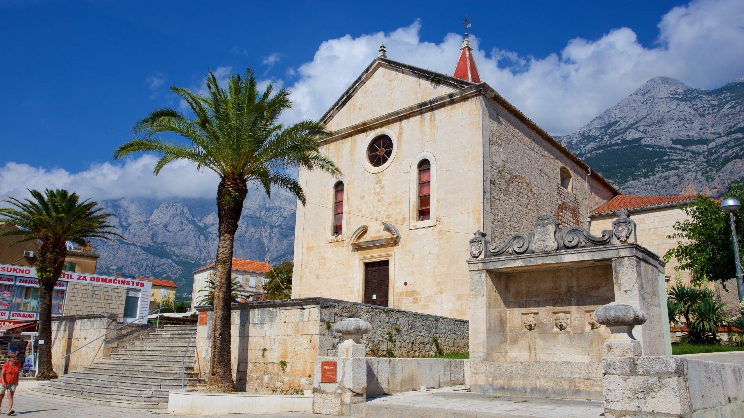 Altstadt von Makarska, Makarska, Split-Dalmatien, Kroatien
