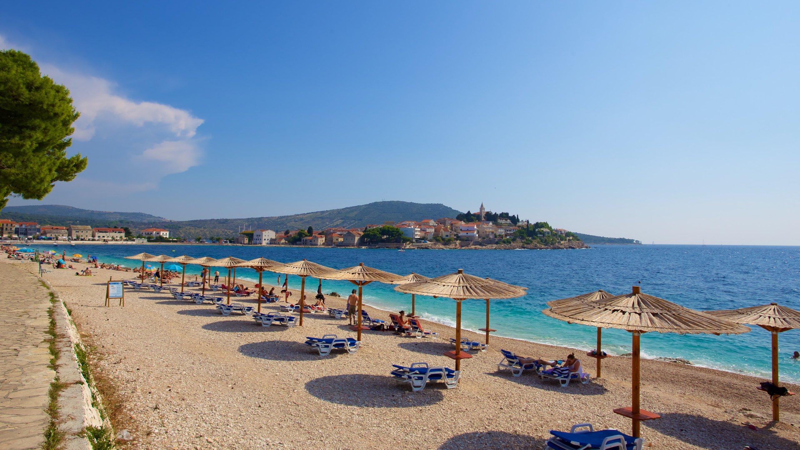 Primosten Beach, Primosten, Sibenik-Knin, Croatia