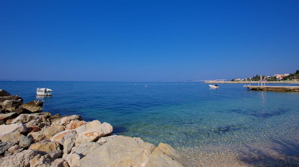 Podstrana som inkluderer kyst
