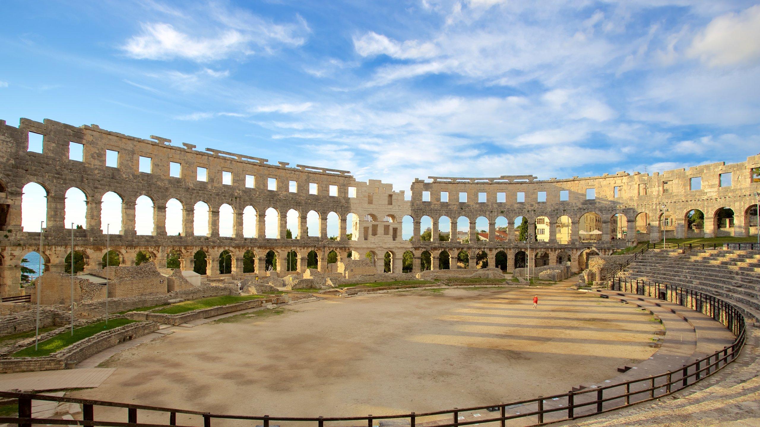 Amphitheater Pula, Pula, Istrien (Bezirk), Kroatien