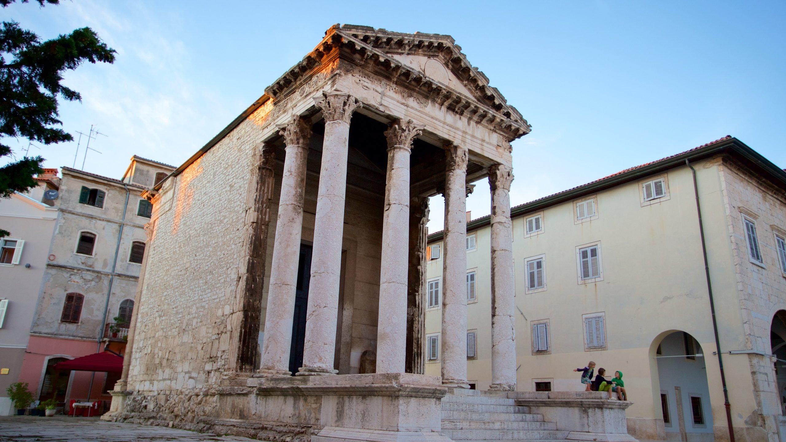 Augustus-Tempel, Pula, Istrien (Bezirk), Kroatien