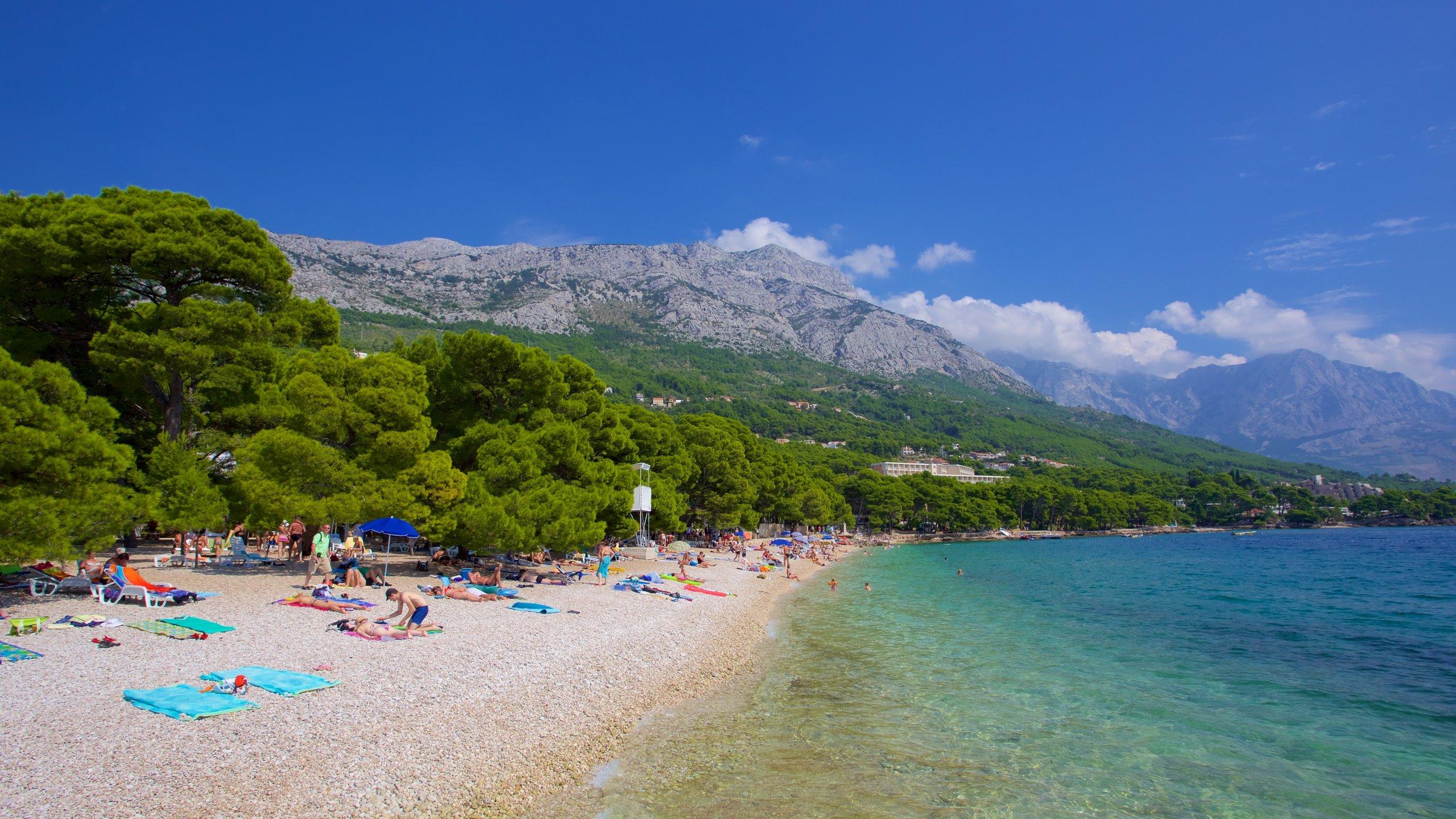 Brela Beach, Brela, Split-Dalmatia, Croatia