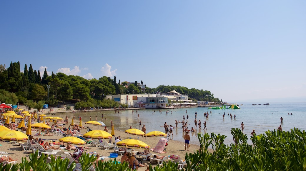 Bacvice Beach showing general coastal views