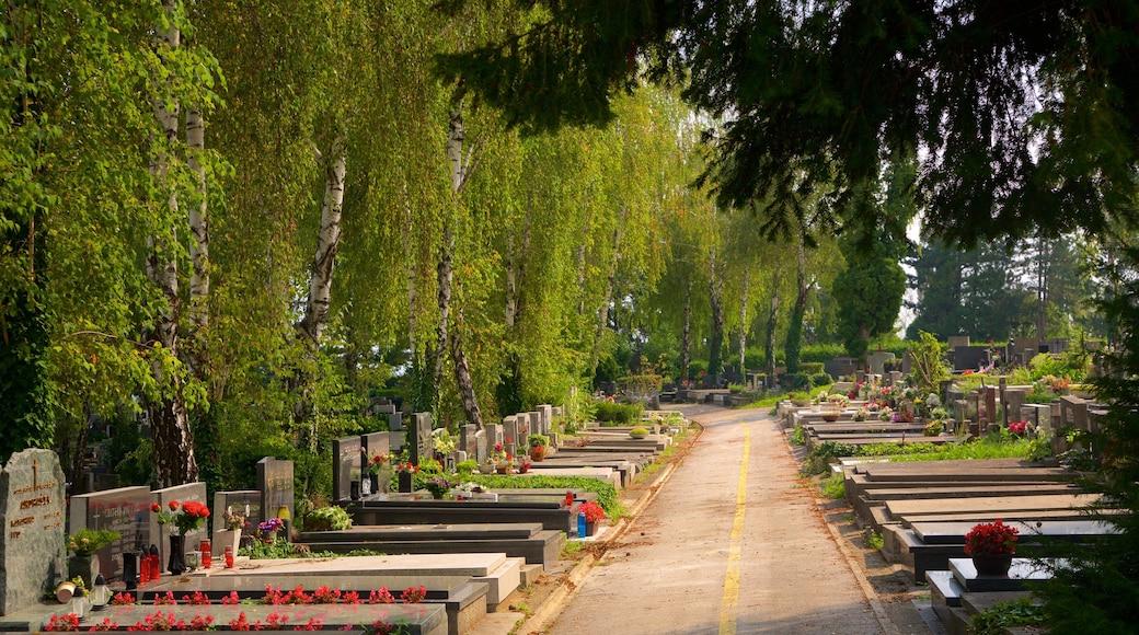 Mirogojin hautausmaa johon kuuluu hautausmaa