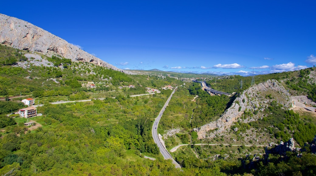 Klis Fortress featuring tranquil scenes and landscape views