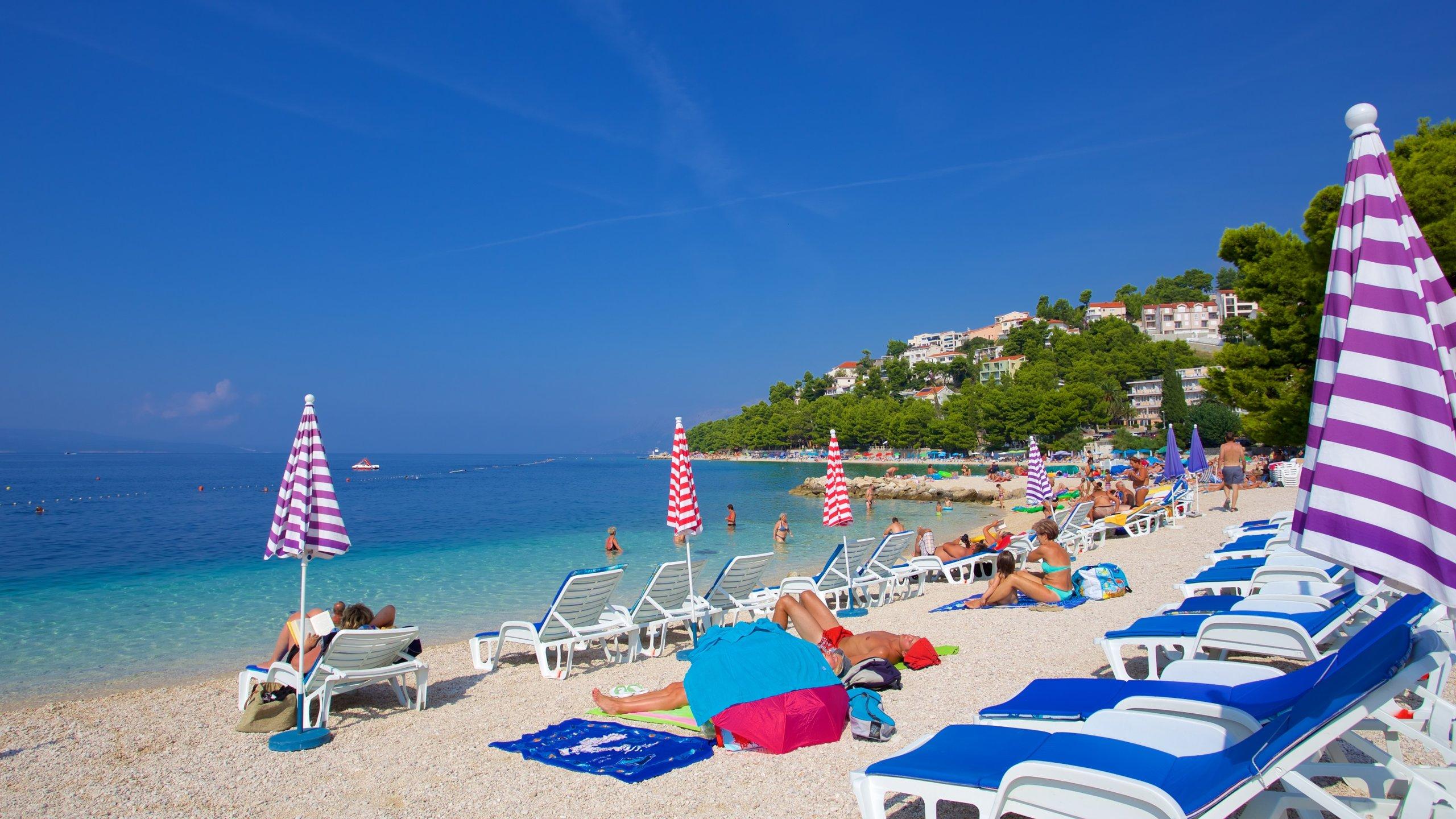 Baska Voda Beach, Baska Voda, Split-Dalmatia, Croatia
