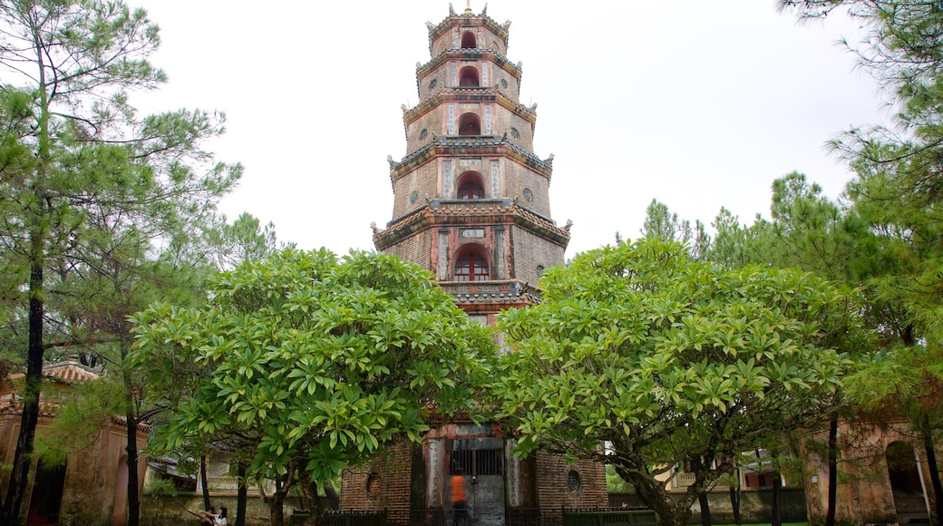 Hue featuring a temple or place of worship and heritage architecture