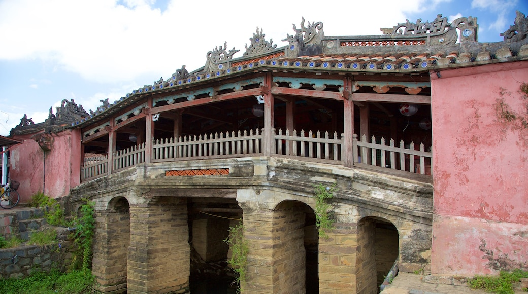 Japanese Bridge featuring a small town or village and a bridge