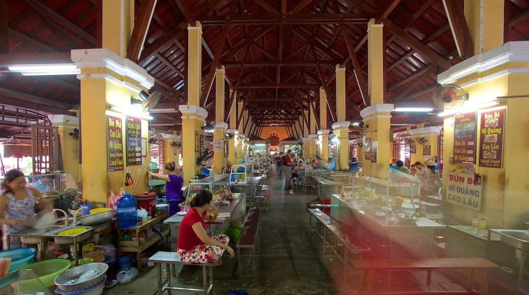 Marché central montrant marchés, nourriture et vues intérieures