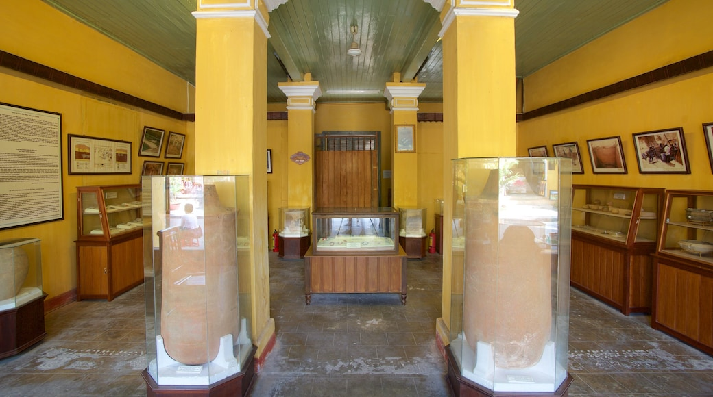 Sa Huynh Culture Museum which includes interior views