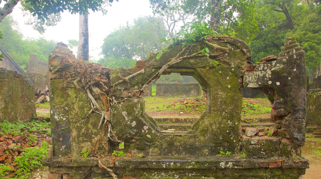Tomb of Tu Duc showing heritage elements and building ruins