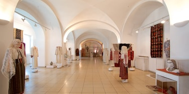 Museum of the Romanian Peasant showing interior views