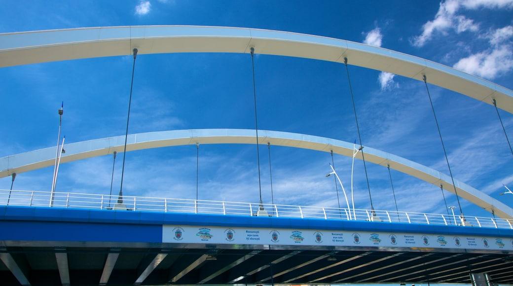 Bucarest che include ponte