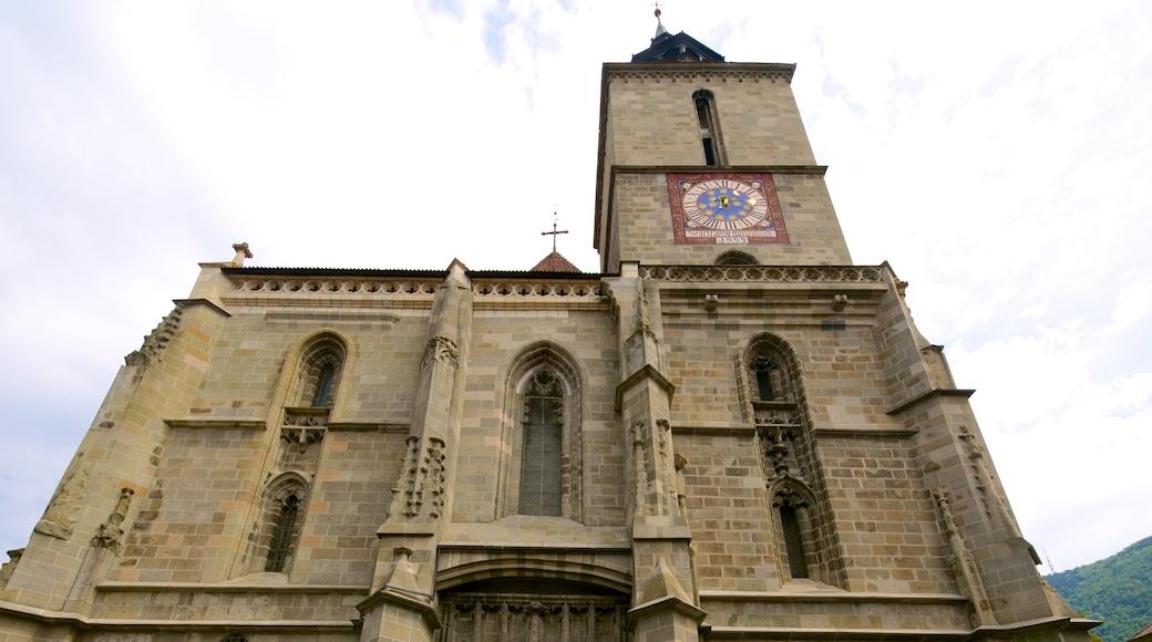 Brasov mit einem religiöse Elemente, historische Architektur und Kirche oder Kathedrale