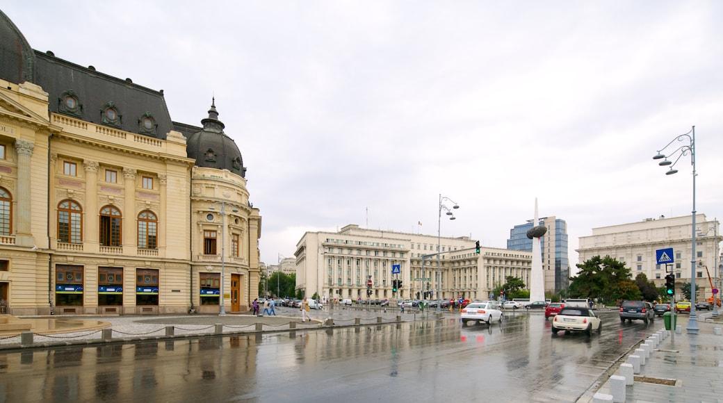 布加勒斯特 设有 街道景色, 城市 和 歷史建築