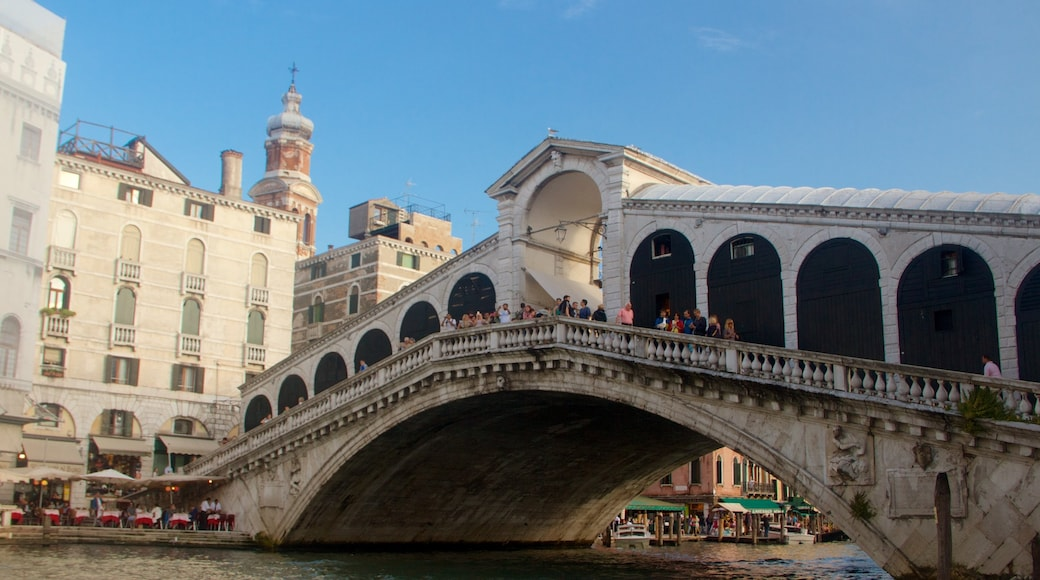 Venice featuring a bridge and a river or creek